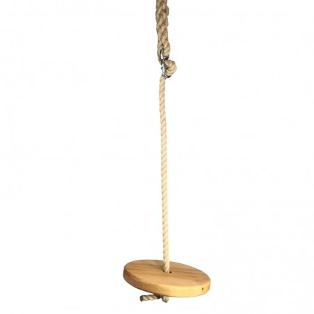 Wooden Disc Swing
