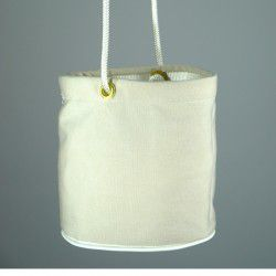natural peg bag