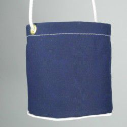 navy peg bag