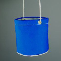 bright blue peg bag
