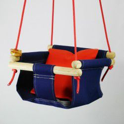 navy toddler swings