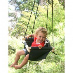 charcoal toddler swing