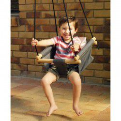 charcoal kids swings