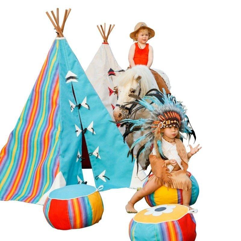 kids canvas teepees