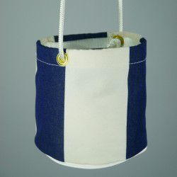 marine stripe peg bag