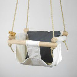 natural organic swing charcoal pillow