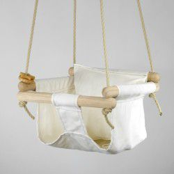 natural organic swing and pillow